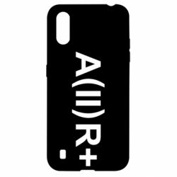 Чехол для Samsung A01/M01 Группа крови (2)А+