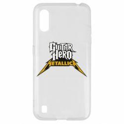 Чохол для Samsung A01/M01 Guitar Hero Metallica