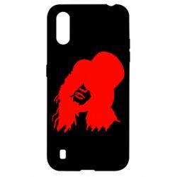 Чохол для Samsung A01/M01 Guns n' Roses Слеш