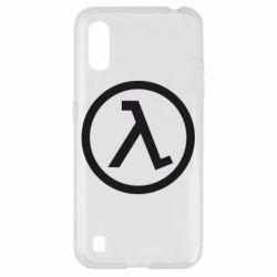 Чехол для Samsung A01/M01 Half Life Logo