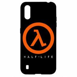 Чехол для Samsung A01/M01 Half-life logotype