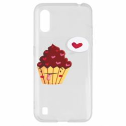 Чохол для Samsung A01/M01 Happy cupcake