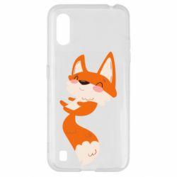 Чехол для Samsung A01/M01 Happy fox
