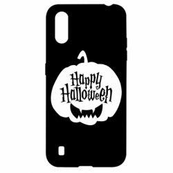 Чохол для Samsung A01/M01 Happy halloween smile