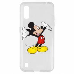 Чохол для Samsung A01/M01 Happy Mickey Mouse