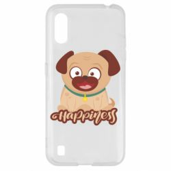 Чехол для Samsung A01/M01 Happy pug