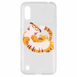 Чохол для Samsung A01/M01 Happy tiger