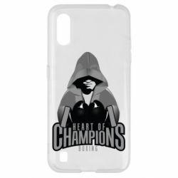 Чехол для Samsung A01/M01 Heart of Champions
