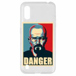 Чохол для Samsung A01/M01 Heisenberg Danger