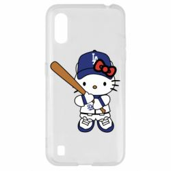 Чохол для Samsung A01/M01 Hello Kitty baseball