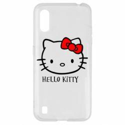Чехол для Samsung A01/M01 Hello Kitty