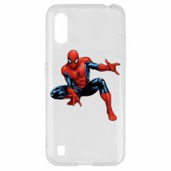Чехол для Samsung A01/M01 Hero Spiderman