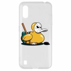 Чохол для Samsung A01/M01 Hockey duck