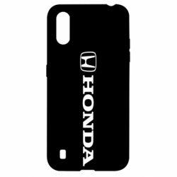Чехол для Samsung A01/M01 Honda Small Logo