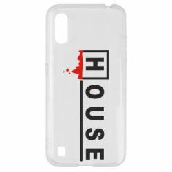 Чехол для Samsung A01/M01 House