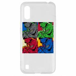 Чехол для Samsung A01/M01 Hulk pop art