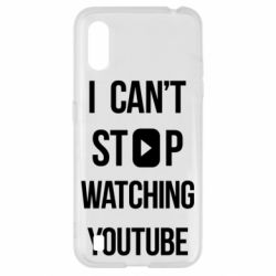 Чохол для Samsung A01/M01 I can't stop watching youtube