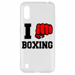 Чехол для Samsung A01/M01 I love boxing