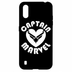 Чохол для Samsung A01/M01 I love Captain Marvel