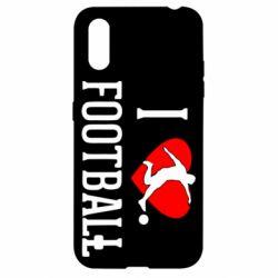 Чохол для Samsung A01/M01 I love football