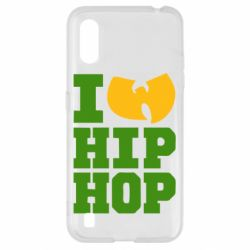Чехол для Samsung A01/M01 I love Hip-hop Wu-Tang