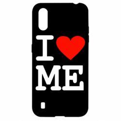 Чехол для Samsung A01/M01 I love ME