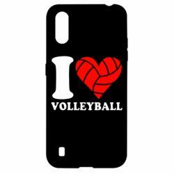 Чохол для Samsung A01/M01 I love volleyball
