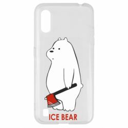Чохол для Samsung A01/M01 Ice bear