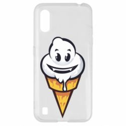 Чохол для Samsung A01/M01 Ice cream graffiti