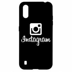 Чехол для Samsung A01/M01 Instagram