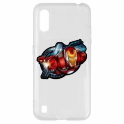 Чохол для Samsung A01/M01 Iron Man and Avengers