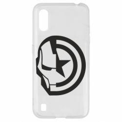 Чохол для Samsung A01/M01 Iron Man and Captain America