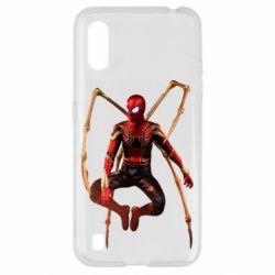 Чохол для Samsung A01/M01 Iron man spider