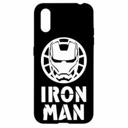 Чохол для Samsung A01/M01 Iron man text