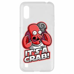 Чохол для Samsung A01/M01 It's a crab!