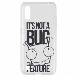 Чехол для Samsung A01/M01 It's not a bug it's a feature