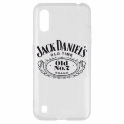 Чехол для Samsung A01/M01 Jack Daniel's Old Time