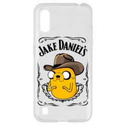 Чохол для Samsung A01/M01 Jack Daniels Adventure Time