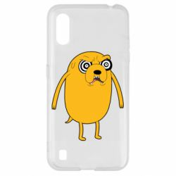 Чохол для Samsung A01/M01 Jake from  Adventure Time