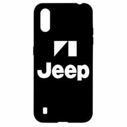 Чехол для Samsung A01/M01 Jeep Logo
