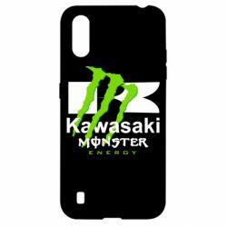 Чехол для Samsung A01/M01 Kawasaki Monster Energy