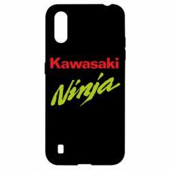 Чехол для Samsung A01/M01 Kawasaki Ninja