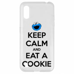 Чехол для Samsung A01/M01 Keep Calm and Eat a cookie