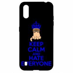 Чехол для Samsung A01/M01 KEEP CALM and HATE EVERYONE