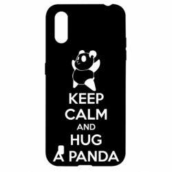 Чохол для Samsung A01/M01 KEEP CALM and HUG A PANDA