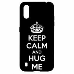 Чохол для Samsung A01/M01 KEEP CALM and HUG ME