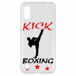 Чохол для Samsung A01/M01 Kickboxing Fight