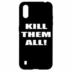 Чехол для Samsung A01/M01 Kill them all!