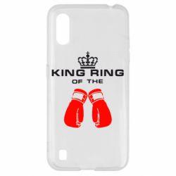 Чохол для Samsung A01/M01 King Ring