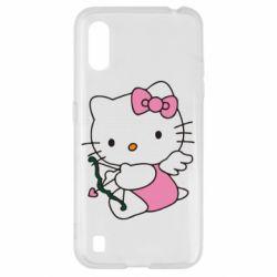 Чохол для Samsung A01/M01 Kitty амурчик